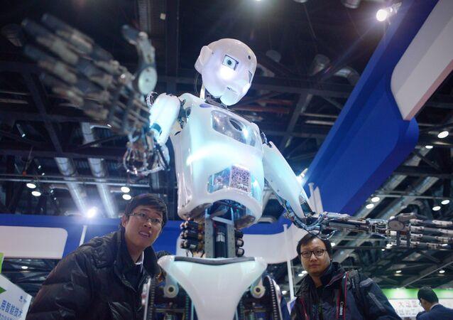 Robot (foto d'archivio)