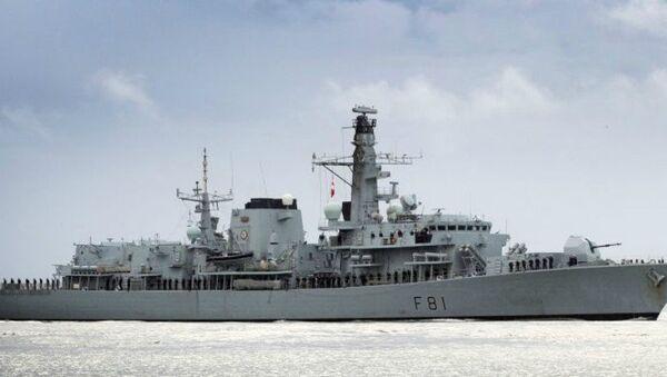 HMS Sutherland - Sputnik Italia