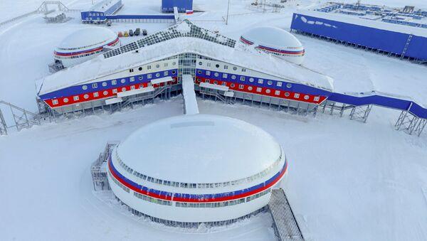 Base militare russa nel circolo polare artico Arctic Trilistnik - Sputnik Italia