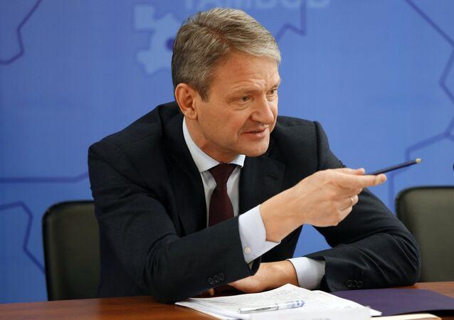 Il ministro dell'agricoltura russo Alexander Tkachev