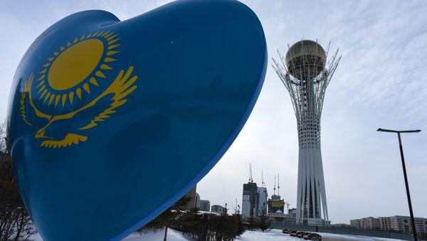 La torre Baiterek ad Astana - Sputnik Italia