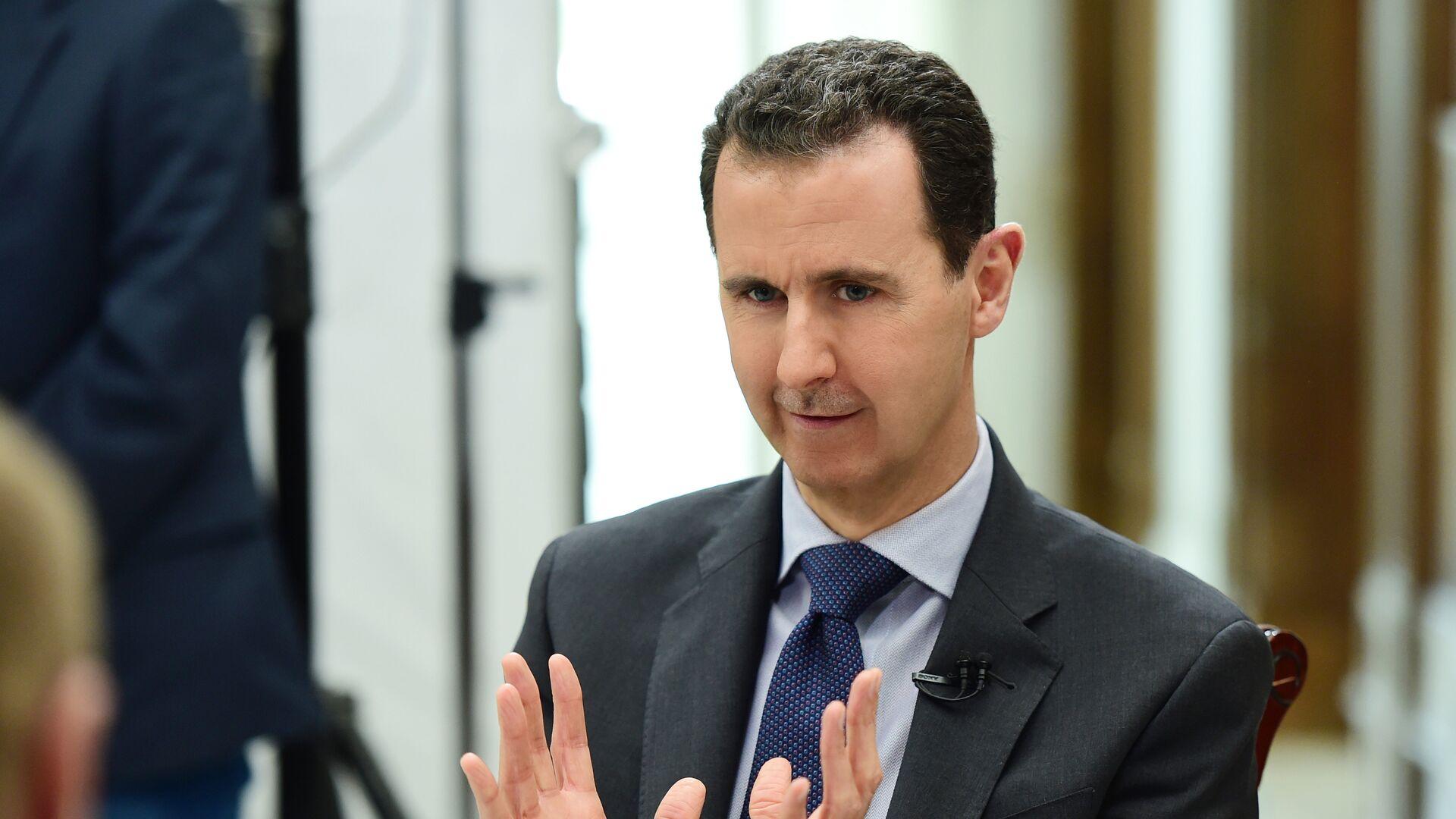 Il presidente siriano Bashar al-Assad - Sputnik Italia, 1920, 03.06.2021
