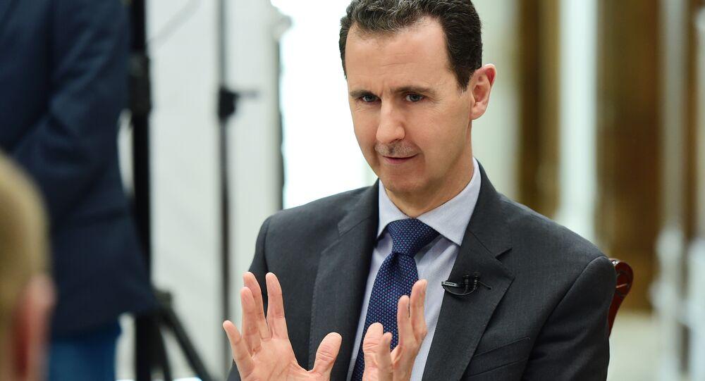 Presidente siriano Bashar Assad