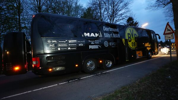 L'autobus del Borussia Dortmund - Sputnik Italia