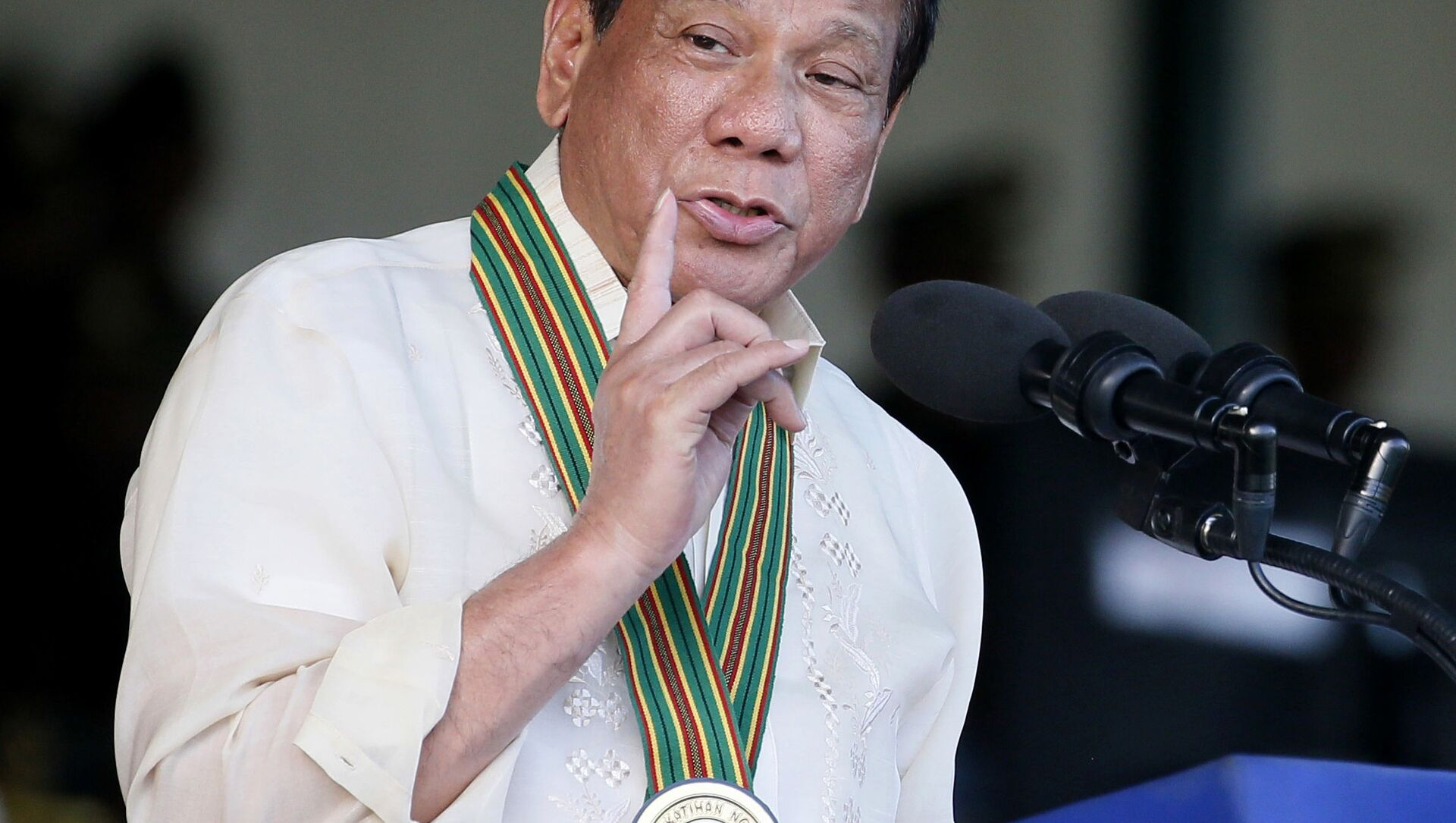 Il presidente delle Filippine Rodrigo Duterte  - Sputnik Italia, 1920, 11.05.2021