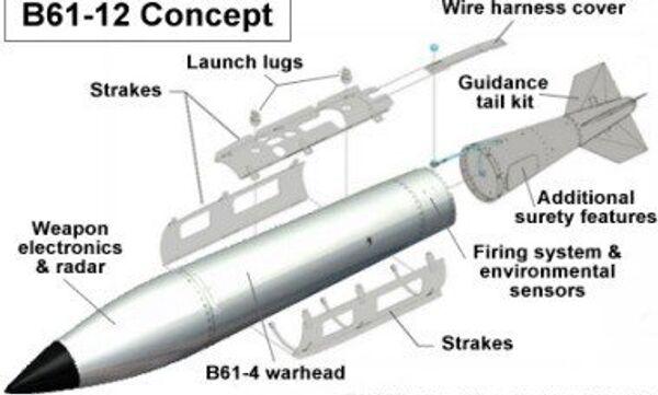 La bomba atomica B61-12 - Sputnik Italia