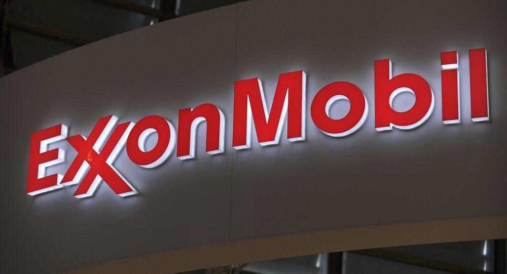 Logo del colosso energetico americano ExxonMobil