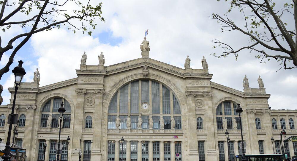 Parigi, stazione ferroviaria Gare du Nord