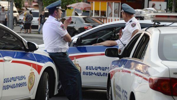 Сотрудники полиции в Ереване - Sputnik Italia