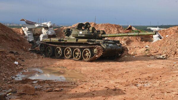 Truppe siriane all'attacco nella provincia di Hama - Sputnik Italia
