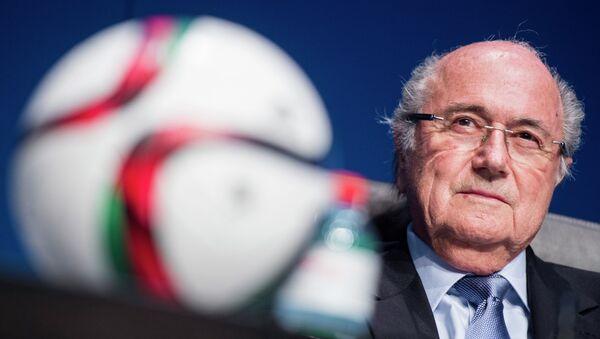 Joseph Blatter, presidente in carica FIFA - Sputnik Italia
