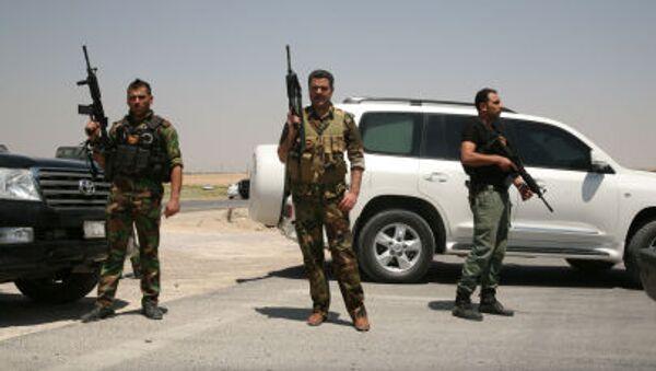 Иракские военные на дороге к Рамади - Sputnik Italia