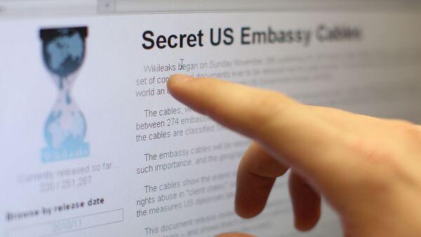 Страница сайта www.wikileaks.org - Sputnik Italia