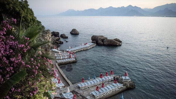 Una spiaggia in Turchia. - Sputnik Italia