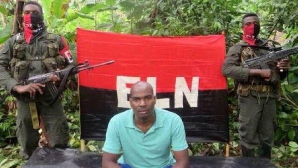 Alto Baudo Mayor Freddy Ramirez Palacios shown abducted by the National Liberation Army of Colombia (ELN) - Sputnik Italia