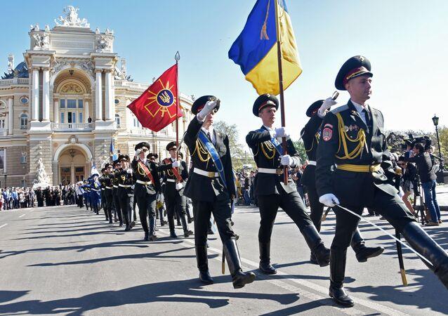 Celebrazione del 9 maggio a Odessa
