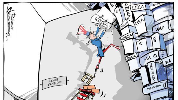 Le nuove sanzioni degli USA contro Siria - Sputnik Italia