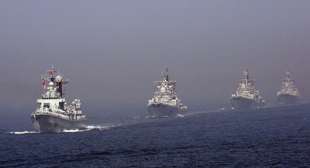 La flotta cinese (foto d'archivio)