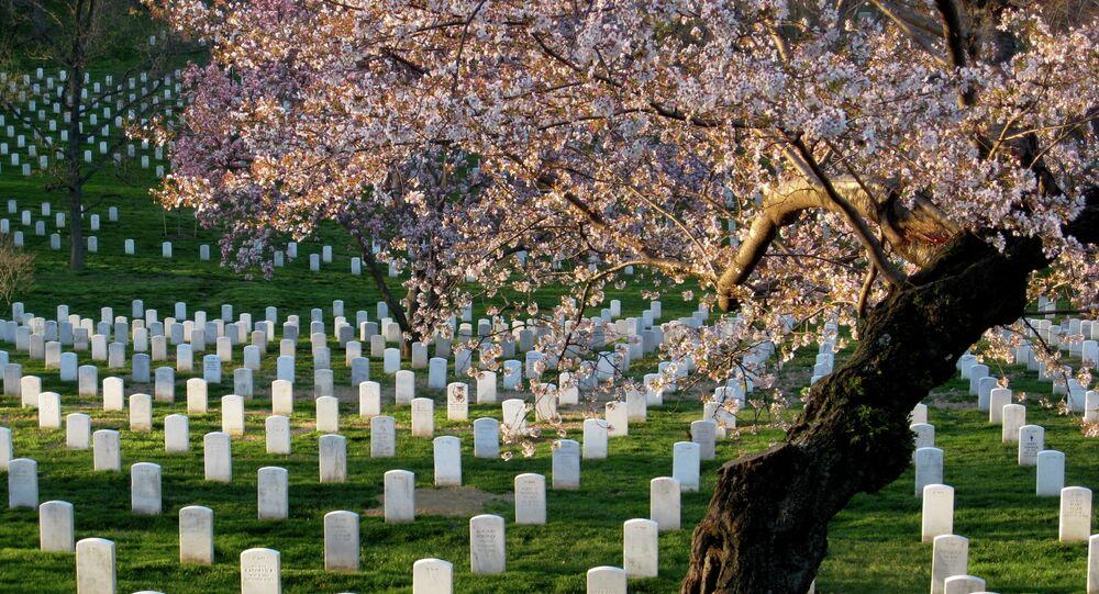 Il cimitero nazionale di Arlington, USA