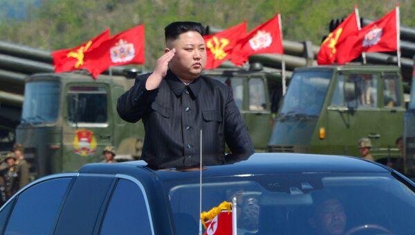 Kim Jong Un alle manovre d'artiglieria nella Corea del Nord - Sputnik Italia