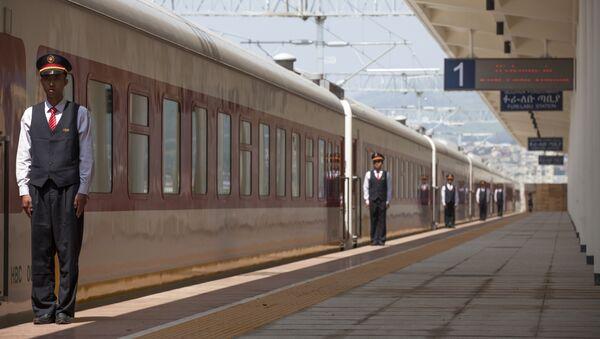 La ferrovia tra Addis Abeba e il Gibuti costruita con gli investimenti cinesi - Sputnik Italia