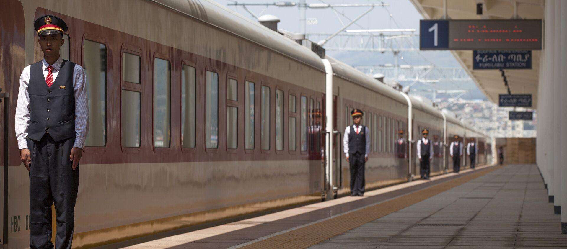 La ferrovia tra Addis Abeba e il Gibuti costruita con gli investimenti cinesi - Sputnik Italia, 1920, 27.04.2017