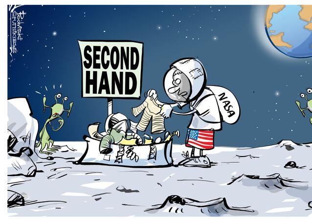 NASA e second hand