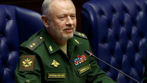 Il vice ministro della Difesa della Federazione, il generale Alexander Fomin. - Sputnik Italia