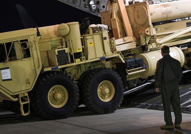 Sistema di difesa aerea Thaad in Corea del Sud (foto d'archivio)