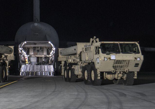 Sistema di difesa aerea Thaad