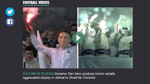 Notizia propagandistica e falsa del tabloid inglese The Sun sul razzismo in Russia - Sputnik Italia