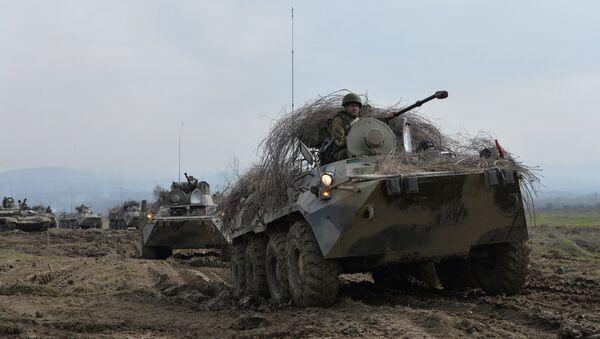 Il blindato BTR-82A - Sputnik Italia
