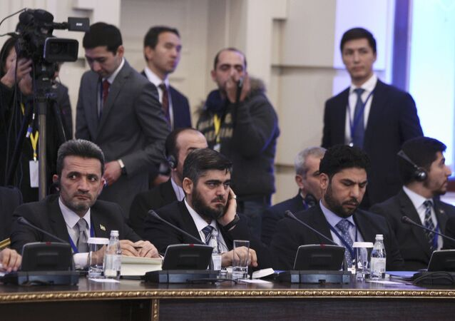 Delegazione dell'opposizione siriana ad Astana (foto d'archivio)
