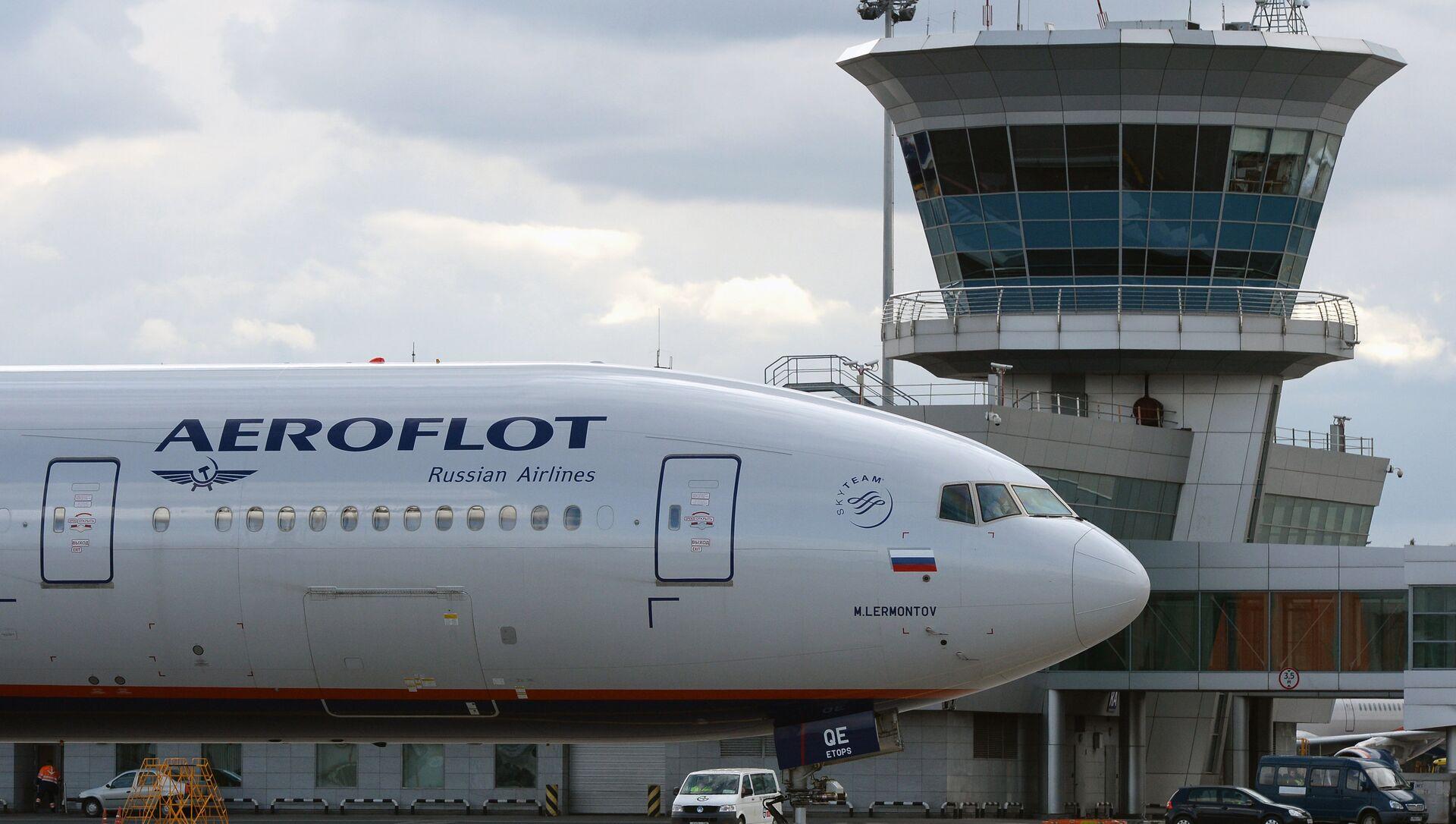 Un Boeing 777 di Aeroflot - Sputnik Italia, 1920, 01.04.2021