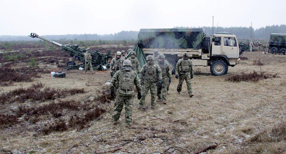 Soldati NATO in Lettonia