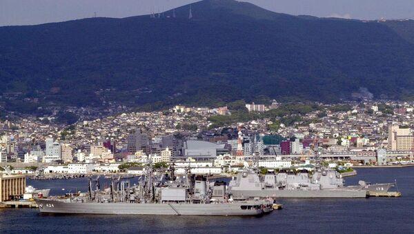 La base navale di Sasebo. (Foto d'archivio) - Sputnik Italia