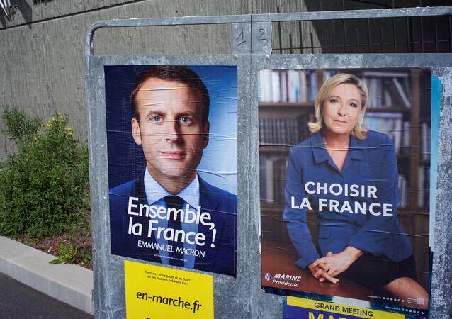 Emmanuel Macron e Marine Le Pen