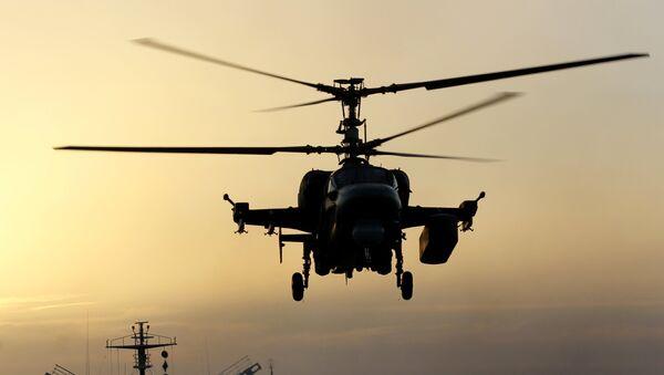 L'elicottero Ka-52K (foto d'archivio) - Sputnik Italia