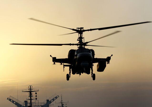 L'elicottero Ka-52K (foto d'archivio)