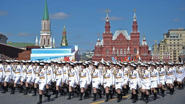 Mosca, 7 maggio 2017, prova generale della Parata della Vittoria - Sputnik Italia