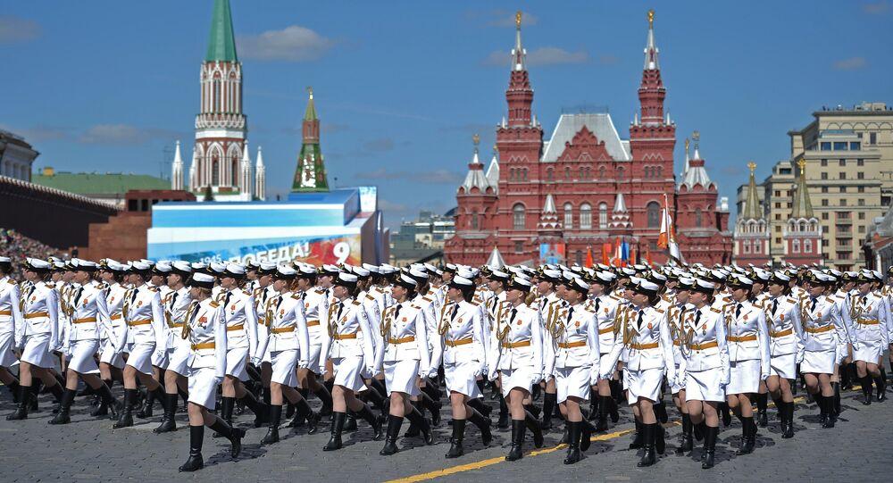 Mosca, 7 maggio 2017, prova generale della Parata della Vittoria