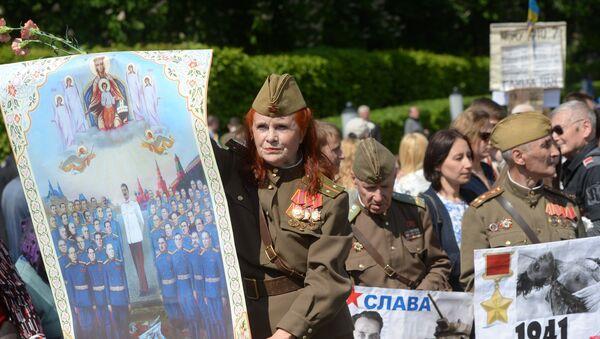 Giorno della vittoria, Kiev - Sputnik Italia