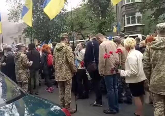 Manifestazione del 9 maggio a Kiev