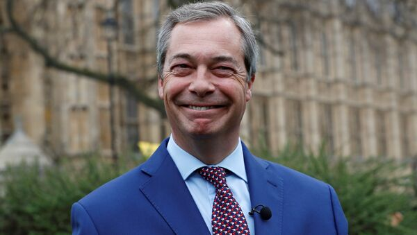Nigel Farage, leader del Brexit Party - Sputnik Italia