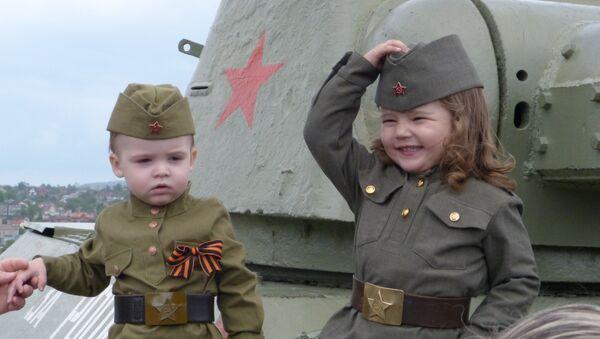 Donetsk, il Giorno della Vittoria - Sputnik Italia