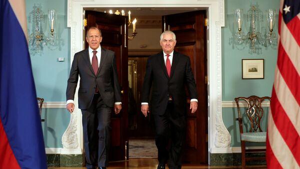 Rex Tillerson e Sergey Lavrov - Sputnik Italia