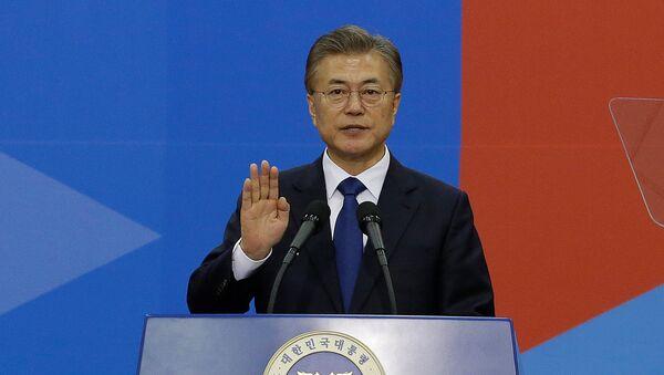 Il presidente della Corea del Sud, Moon Jae-in - Sputnik Italia