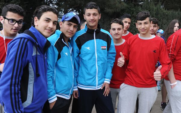 Lo svago dei bambini siriani al campo russo Artek - Sputnik Italia
