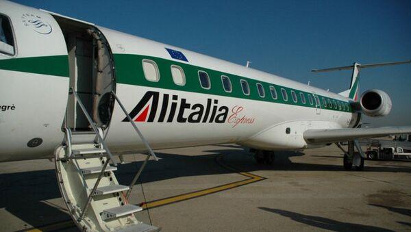 Un aereo dell'Alitalia. - Sputnik Italia