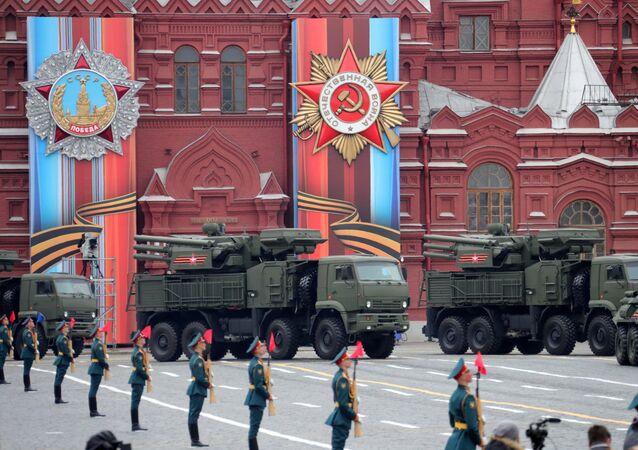 La parata del Giorno della Vittoria a Mosca